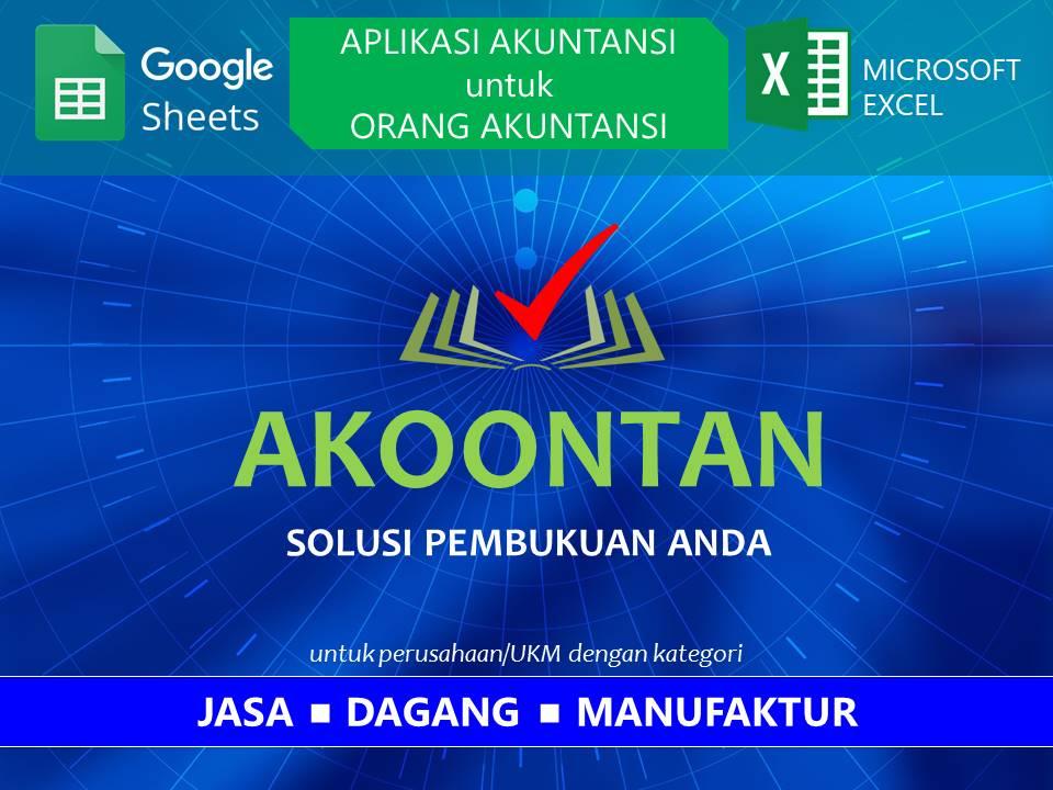 Aplikasi Akuntansi untuk Orang Akuntansi