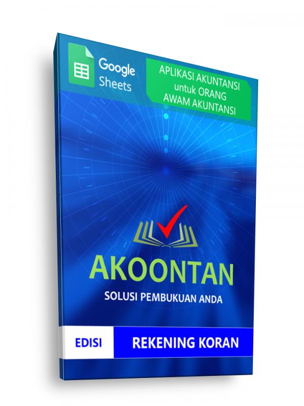 Google Sheets Non Akuntan - Rekening Koran