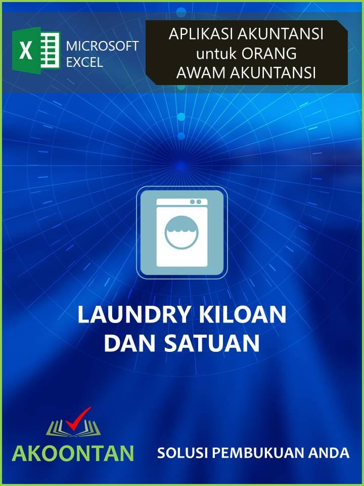 Ak024 Aw Xl Laporan Keuangan Usaha Laundry Akoontan