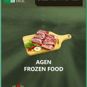 Excel Akuntansi Agen Frozen Food