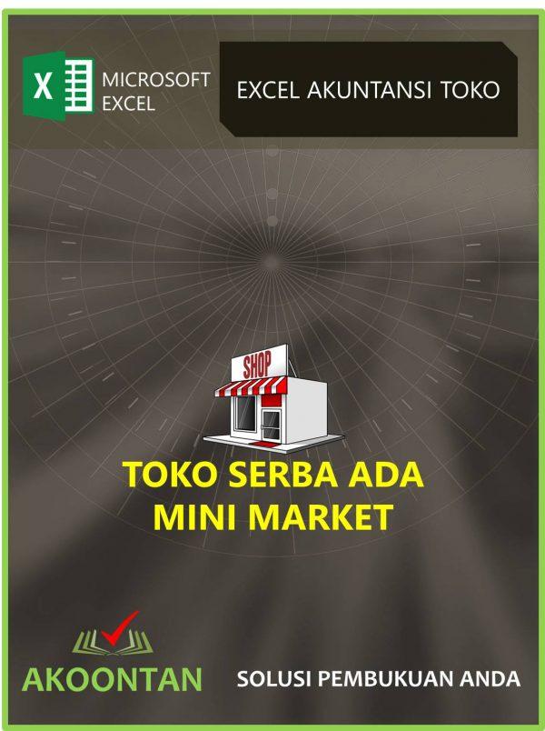 Excel Akuntansi Toserba - Minimarket