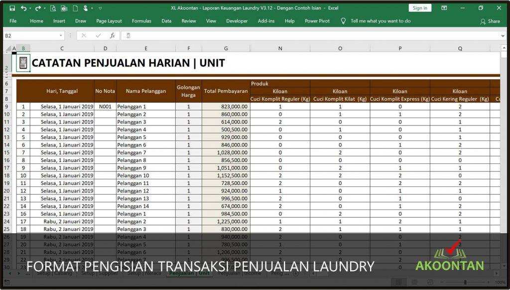 Aplikasi Laporan Keuangan Akoontan