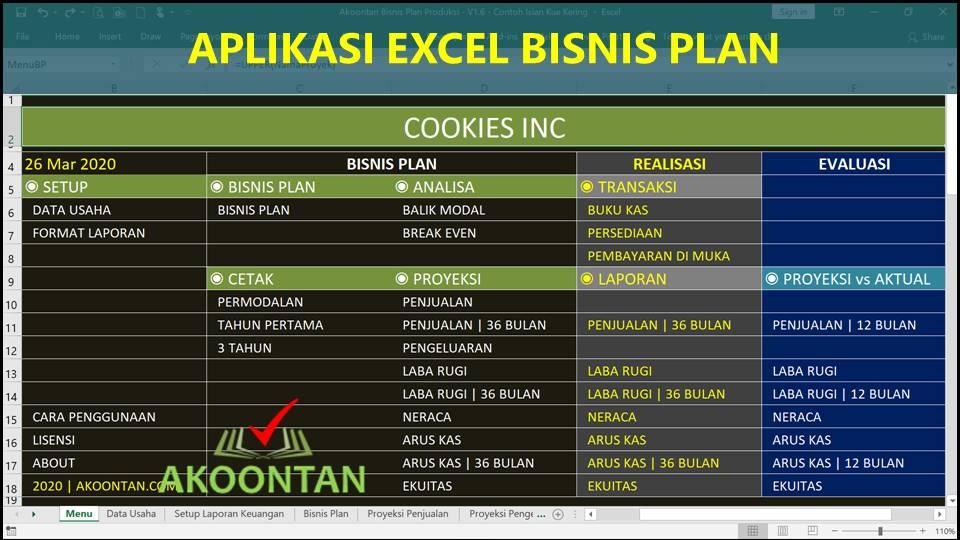 Aplikasi Bisnis Plan Analisa Usaha Akoontan