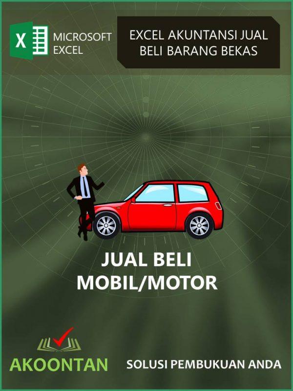Excel Akuntansi Jual Beli Mobil/Motor Bekas