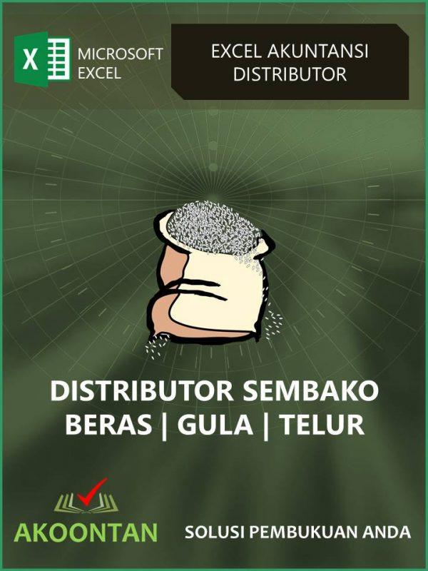 Akuntansi Distributor Beras - Gula - Telur