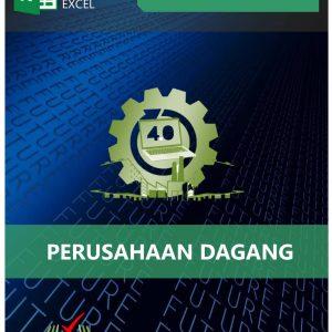 Akoontan Excel Anggaran Perusahaan Dagang