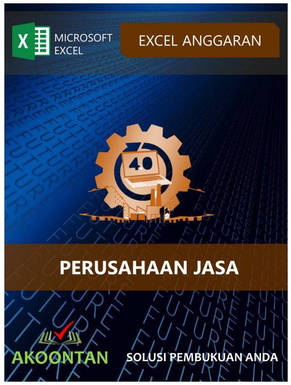 Akoontan Excel Anggaran Perusahaan Jasa