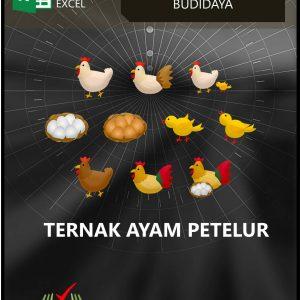 Excel Akuntansi Budidaya - Ternak Ayam Petelur