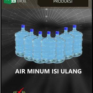Excel Akuntansi Usaha Air Minum Isi Ulang