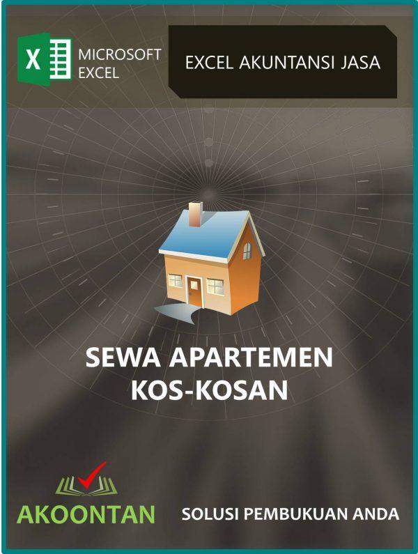 Excel Akuntansi Sewa Apartemen - Kos2an