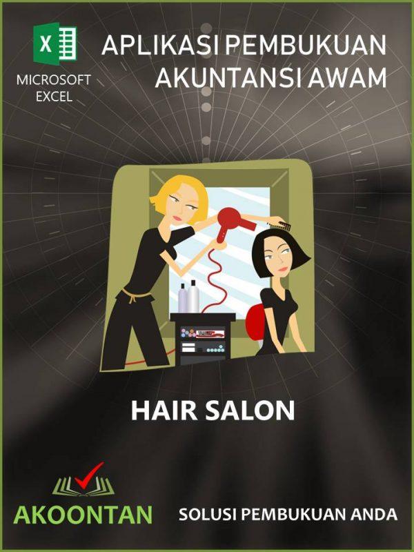 Aplikasi Akuntansi Awam - Hair Salon