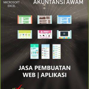 Aplikasi Akuntansi Awam - Jasa Pembuatan Web - Logo - Aplikasi
