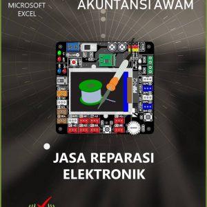 Aplikasi Akuntansi Awam - Jasa Reparasi Elektronik