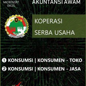 Aplikasi Akuntansi Awam - KSU - Jasa - Toko