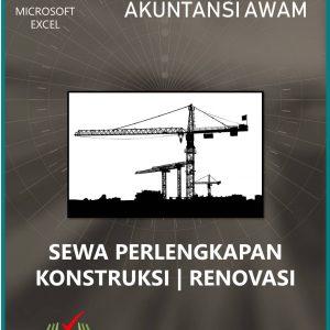 Akuntansi Sewa Perlengkapan Konstruksi