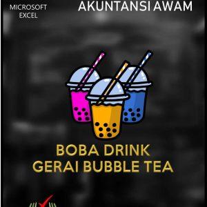 Aplikasi Akuntansi Awam - Gerai Bubble Tea