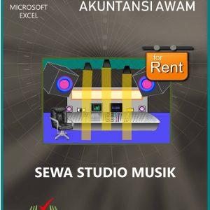 Aplikasi Akuntansi Awam Sewa Studio Musik