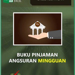 Aplikasi Buku Pinjaman - Bunga Mingguan