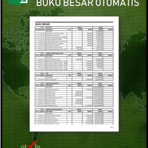 Aplikasi Excel Buku Besar Otomatis