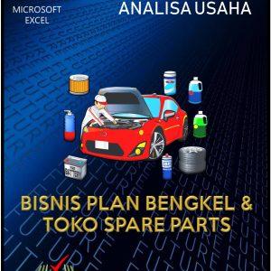 Aplikasi Analisa Usaha Bisnis Plan Bengkel dan Toko Spare Parts