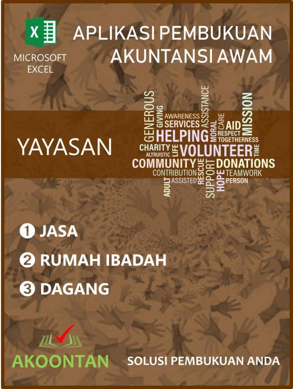 Aplikasi Yayasan Jasa - Dagang - Rumah Ibadah