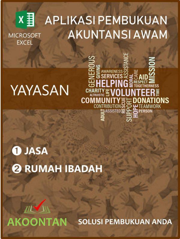 Aplikasi Yayasan Jasa - Rumah Ibadah