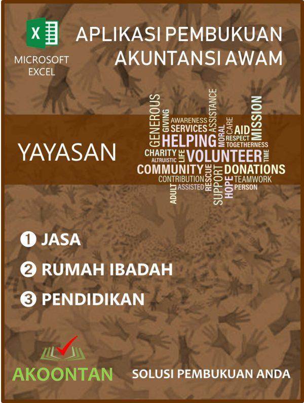 Aplikasi Yayasan Jasa - Rumah Ibadah - Pendidikan