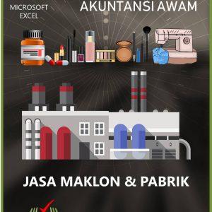 Excel Akuntansi Jasa Maklon dan Pabrik