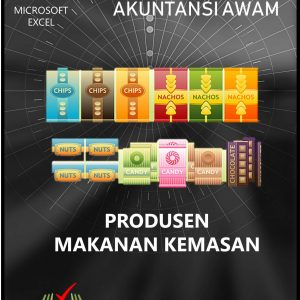 Excel Akuntansi Produsen Makanan Kemasan