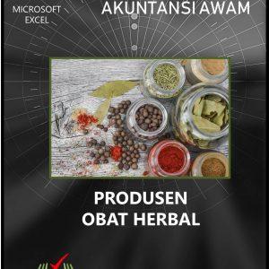 Excel Akuntansi Produsen Obat Herbal