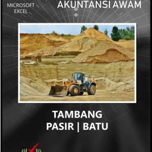 Excel Akuntansi Tambang Pasir - Batu